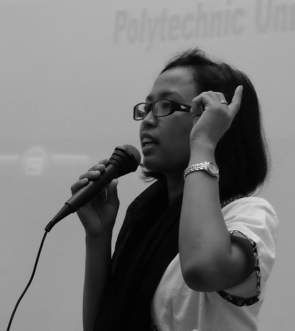 Pidato Eni lestari Adalah Suara Kaum Migran