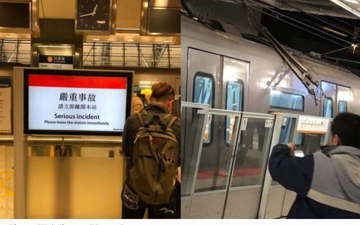 Layanan MTR Express menuju Airport dan Tung Chung Line terganggu setelah kerusakan pada daya kabel