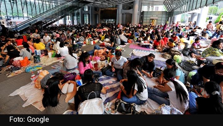 75 persen dari 61 PRT migran Filipina meninggal sakit akibat kondisi kerja buruk