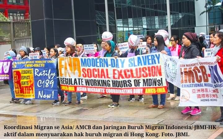 Penelitian: Buruh migran kerja berlebih, kurang makan