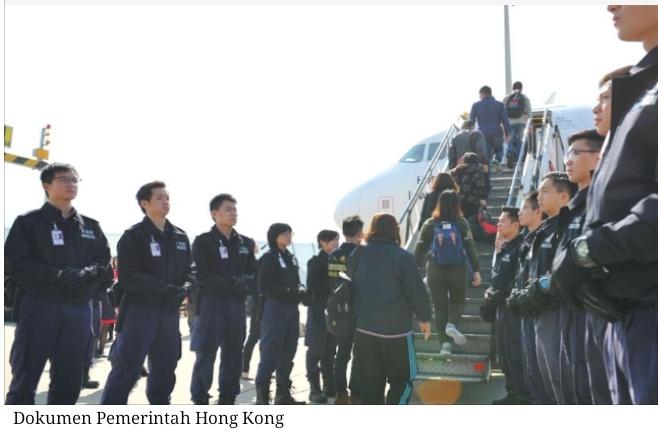 Hong Kong mendeportasi 9.137 pencari suaka