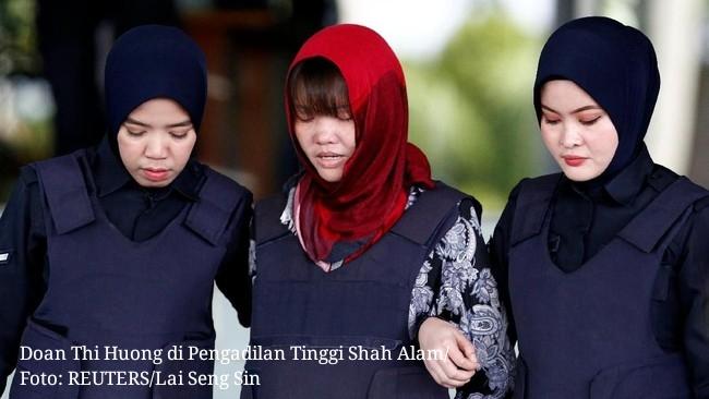 Pengadilan pembunuhan Kim Jong-nam: Doan Thi Huong menerima pengurangan hukuman dan bebas pada bulan Mei
