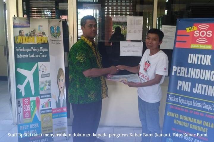 Kabar Bumi Ponorogo Kembali Berhasil Mengambil Dokumen BMI Yang Ditahan PT