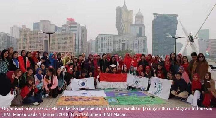 Pernyataan Sikap JBMI Macau dalam May Day 2019