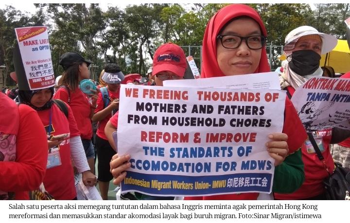 "Peringati Hari Buruh: ""JBMI desak Indonesia dan Hong Kong hentikan perbudakan modern"""