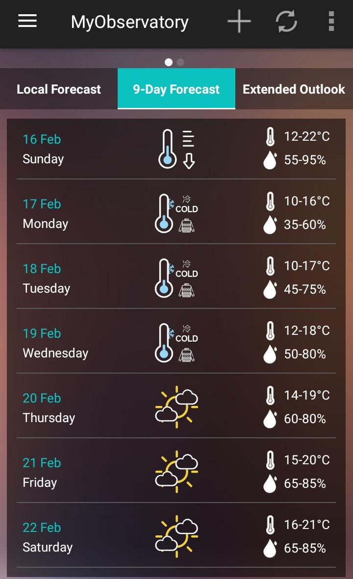 Mulai Minggu sampai Selasa, suhu udara turun 12 sampai 8 derajat Celcius di New Territories, Hong Kong