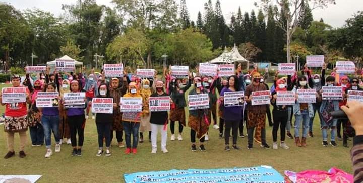 Perempuan Migran Lawan Segala Bentuk DiskriminasiPerjuangkan Kesehatan, Keselamatan dan Keamanan Kerja di Tengah Wabah Corona